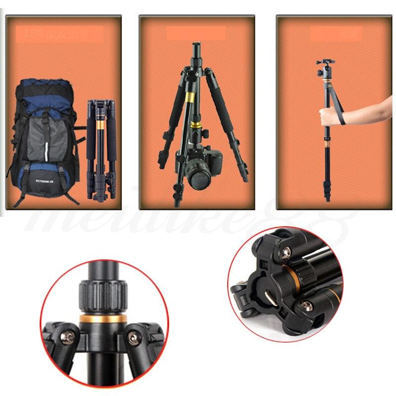 DHL Penghantaran Percuma Kualiti Tinggi Q-570 Portable Pro Tripod - Kamera dan foto - Foto 5