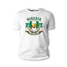 4f8e424c47 Nova Moda Verão T-Shirt dos homens Nigéria Jogador de Futebol Lenda Soccers  Fubball Flagge Herren Camiseta 2018 Algodão Camisa