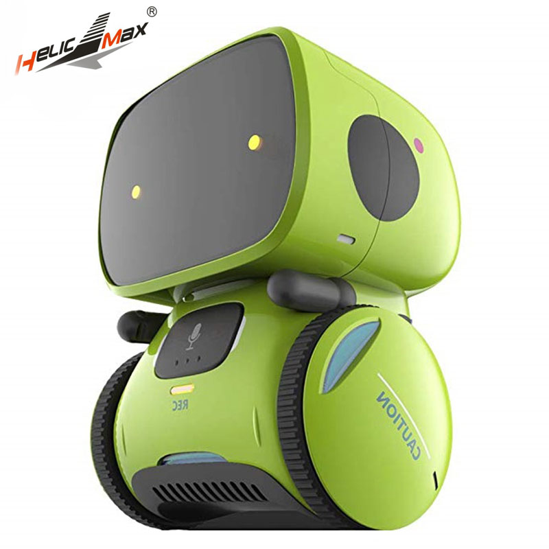 Newest Type Smart Robots Dance Voice Command 3 Languages Versions Touch Control Toys Interactive Robot Cute Toy Gifts for Kids image