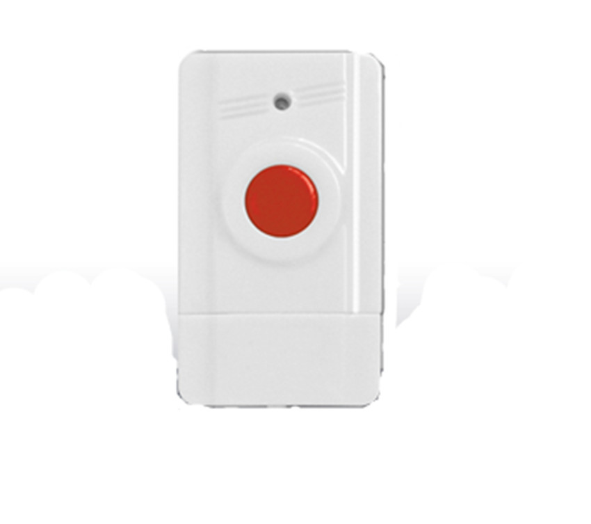 433mhz  Wireless SOS   Panic Button For GSM Alarm System 2 receivers 60 buzzers wireless restaurant buzzer caller table call calling button waiter pager system