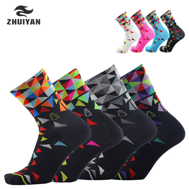 2019 New Professional Brand Sport Outdoor Socks Breathable Road Bicycle Socks/Mountain Bike Socks/Racing Cycling Socks N4