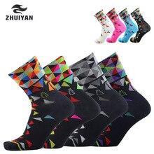 Новые профессиональные Брендовые спортивные носки для улицы Дышащие носки для шоссейного велосипеда/носки для горных велосипедов/гоночные велосипедные носки N4