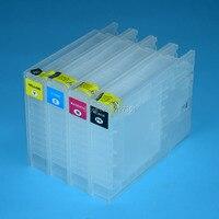 4 farbe IC93 IC93XL Refill Tinte Patrone Für Epson WorkForce PX-M7050 PX-S7050 M860F S860 drucker