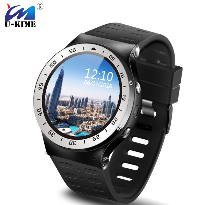 2017 3G WCDMA Quad-Core Android 5.1 8G ROM Smart Watch GPS WiFi 5.0MP HD Camera Pedometer Heart Rate Monitor цена и фото