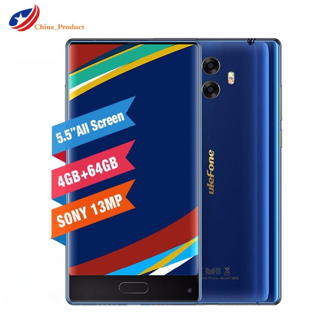 In Stock! Ulefone Mix Octa Core 4GB+64GB Smartphone MTK6750T 5.5