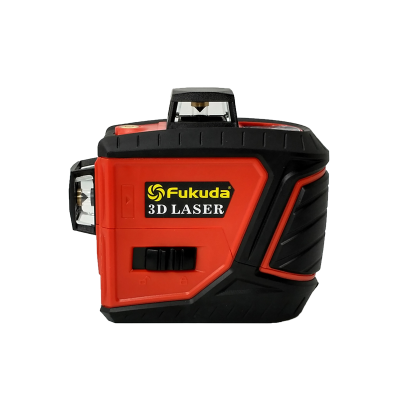 Fukuda 12Lines 3D MW 93T self Leveling 360 Horizontal And Vertical Cross Super Powerful Red Green Laser level Beam Line-in Laser Levels from Tools    2