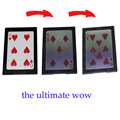 The Ultimate WOW 3.0 Version Change Twice tricks magia wow card  Vanish Illusion Magic Tricks 10pcs/lot for card magic