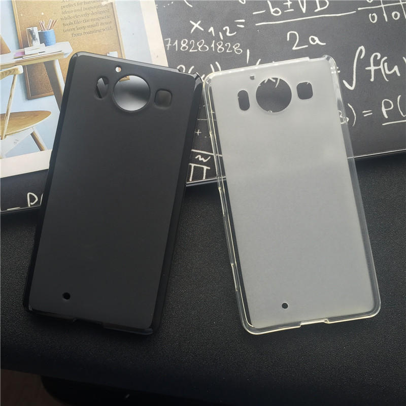 Soft Silicone Protective Back Cover Cases for Microsoft Nokia Lumia 950 TPU
