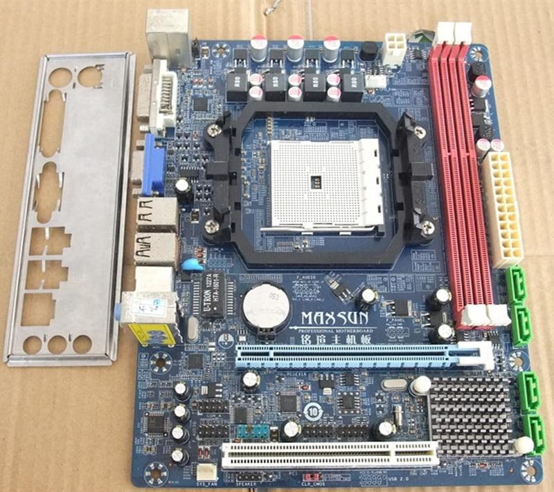 FM1 A55 motherboard Used original for MAXSUN MS-A55EL / A55DL MAXSUN A55 FM1 DDR3 motherboard