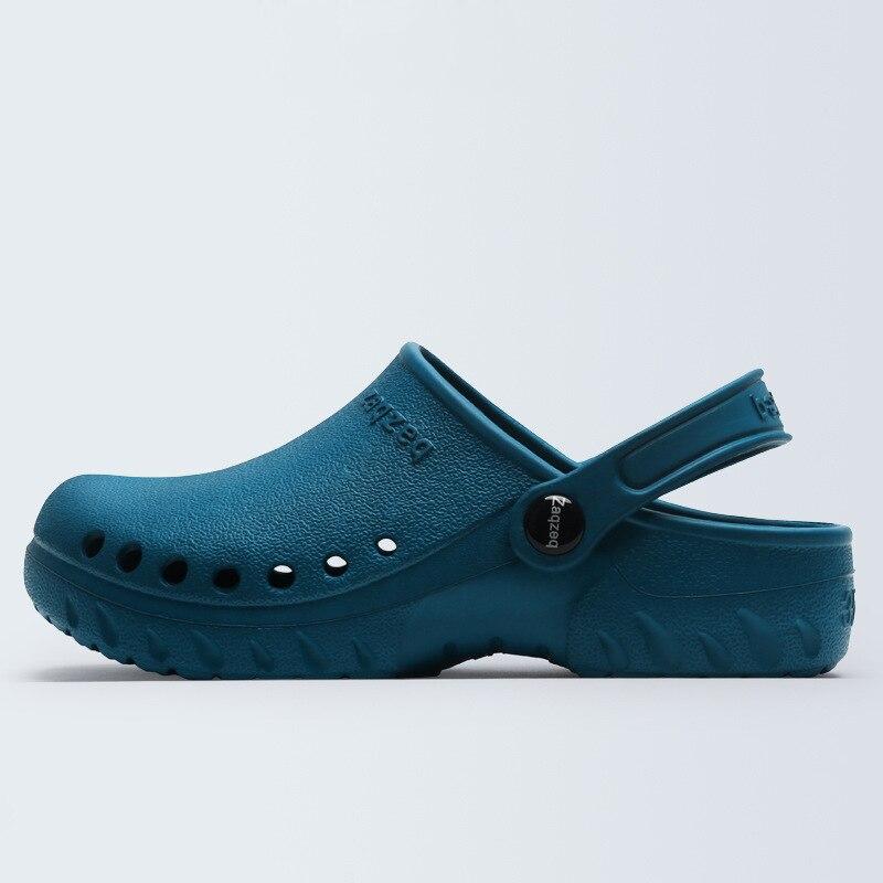 2018 Männer Klassische Chirurgische Schuhe Arzt Medizinische Schuhe Sicherheit Chirurgische Clogs Hausschuhe Reinraum Chef Arbeit Schuhe Für Männer Unisex