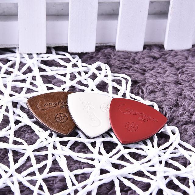 Sheep Leather Guitar Picks 3 pcs/Set
