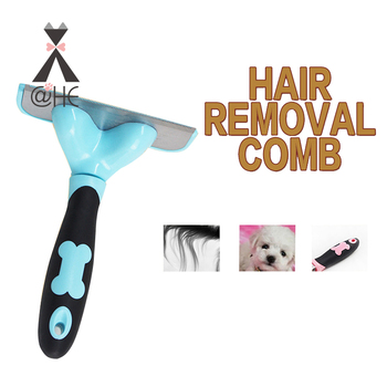 @HE Dog Hair Remover Comb Cat Brush Grooming Tools Pet Combs For Dogs Cats Pets Supply Собака