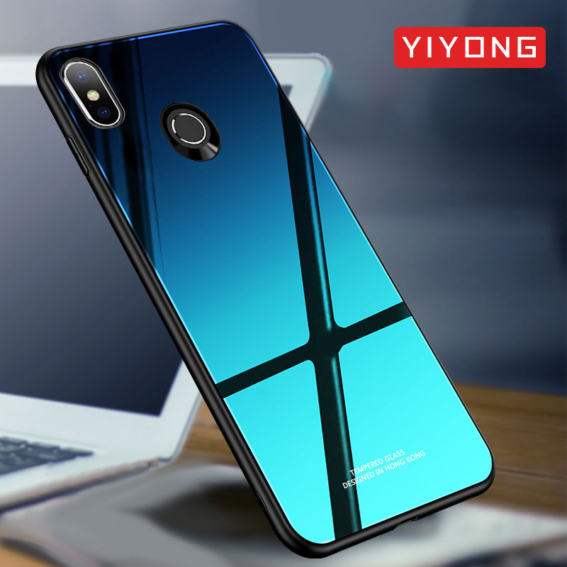 Xiaomi Mi Mix 3 2 S Case Glass Mirror Back Cover For Xiaomi Mi Max 3 Case Silicone Tempered Glass Case Xiomi Xiami Mix 2S Cases