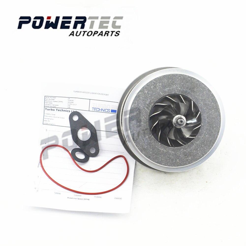 Turbine cartridge parts core assy For Audi A3 1.9 TDI / 2.0TDI BKD / AZV / ASZ 140HP / 130HP 724930 720855 716860 716216 712078