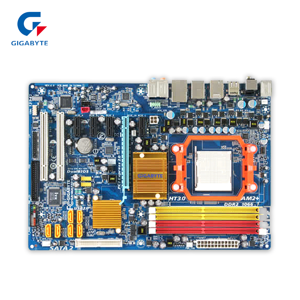 все цены на  Gigabyte GA-MA770-S3 Original Used Desktop Motherboard 770 Socket AM2+ DDR2 SATA2 USB2.0 ATX  онлайн