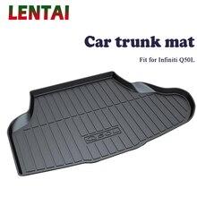 цена на EALEN 1PC Car rear trunk Cargo mat For Infiniti QX50 Car-styling Boot Liner Tray Waterproof carpet Anti-slip mat Accessories