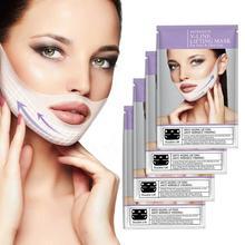 1/4pcs 4D Double V Face Shape Tension Firming Mask Eliminate Edema Masks Women Lift Tools Skin Care