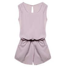 Casual Sleeveless Rompers for Women