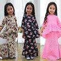 2017 Nueva Llegada Del Verano Vestido de Niña de Flores Vestido de Los Niños Ropa de Estilo Malay Moda Variedad de Colores Flores Amor
