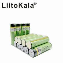 8 шт. 2018 Оригинал LiitoKala 18650 3400mAh батарея 3,7 V Li-Ion Rechargebale батарея PCB защищенная 18650B18650 3400
