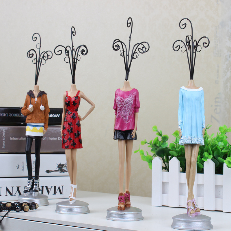 48CM48CM Stand Mannequin Model Decorative Item Iron Jewelry Display Magnificent Home Decorative Item Model