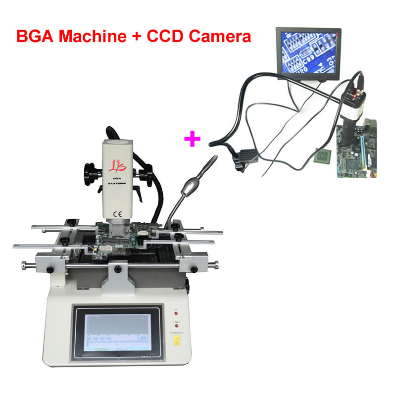 Hot Air Mobile BGA Rework Station Chip Repair System Mobile Reballing Kits LY 5200 Touch Screen 3 Zones for iPhone, HTC bga rework machine ly 5830c hot air 3 zones for laptop motherboard chip repair 4500w zm r5830