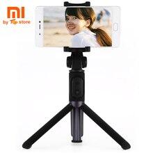 Original Xiaomi Xiomi Mi Foldable Tripod Bluetooth Selfie Stick Camera Holder With Wireless Remote Control For Smartphone
