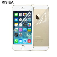 5pcs Front+5pcs Back RISIEA New Matte Anti Glare Screen Protector Film Guard For iPhone 4 4S 5 5S SE 6 6S plus 7 8 plus x