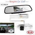 Estacionamento monitor do carro vídeo espelho com CCD HD Anti nevoeiro especial invertendo câmara de visão traseira para KIA / Rio Sedan sistema de estacionamento de Backup