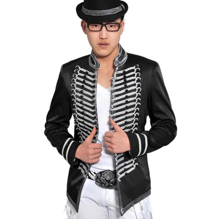 Double breasted blazer hommes derniers modèles de manteau costume hommes  costume homme terno masculino chanteur de scène de danse de costumes pour  hommes ... c04fb5297abe