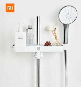 Image 1 - Xiaomi Mijia Dabai Di Động Phòng Tắm Vòi Sen có Giá Để Đồ Treo Khăn Kệ Treo Giá Đựng Đồ DIY Tổ Chức Có Móc Treo