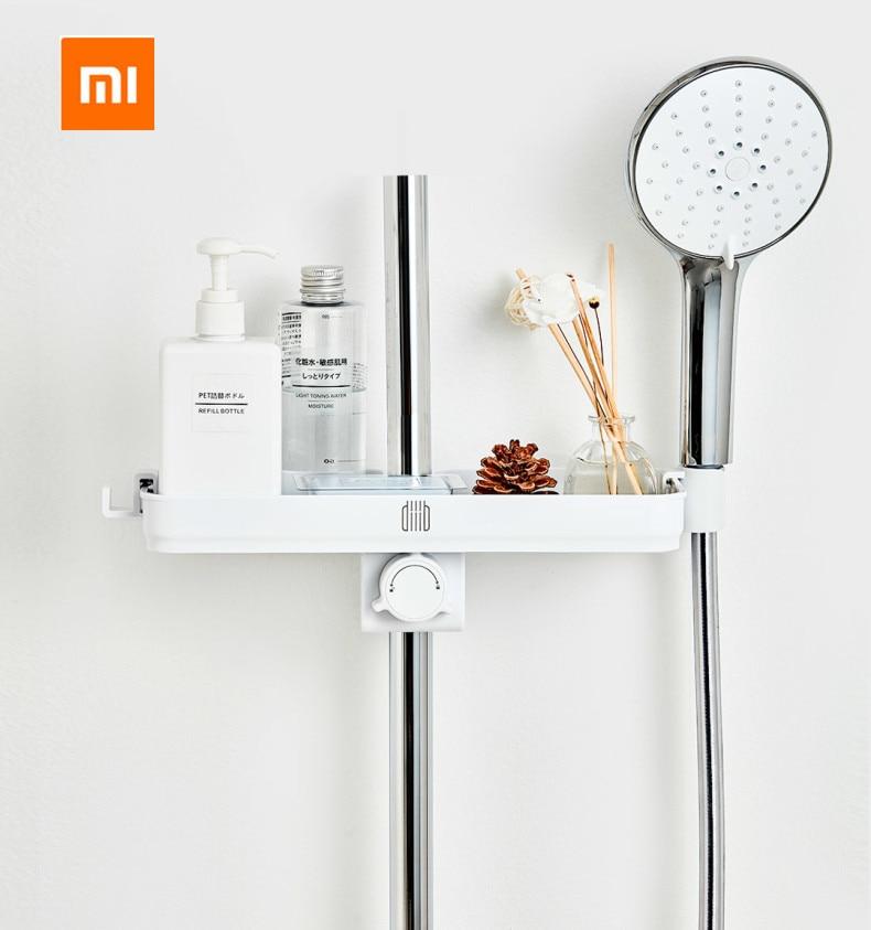Xiaomi Mijia Dabai Portable Bathroom Showers Storage Rack Towel Hanging Shelf Hanging Storage Rack DIY Organization With Hook