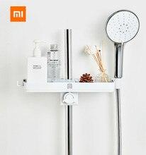 Xiaomi mijia dabai portátil banheiro chuveiros rack de armazenamento toalha pendurado prateleira rack de armazenamento diy organização com gancho