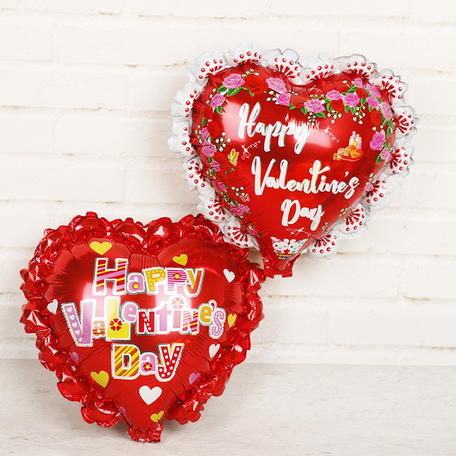 30pcs Mini Wedding Love Favors Balloons Happy Valentines Day Foil