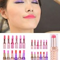 1pc 12 Colors Young Girls Multi-Colors Makeup Waterproof Lipstick Long Lasting Lip Gloss Balm Sexy Makeup Beauty Tools