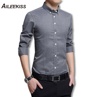 2018 Men New Arrival Long Sleeve Striped Shirts Men S Shirt Male Business Soft Casual Shirts