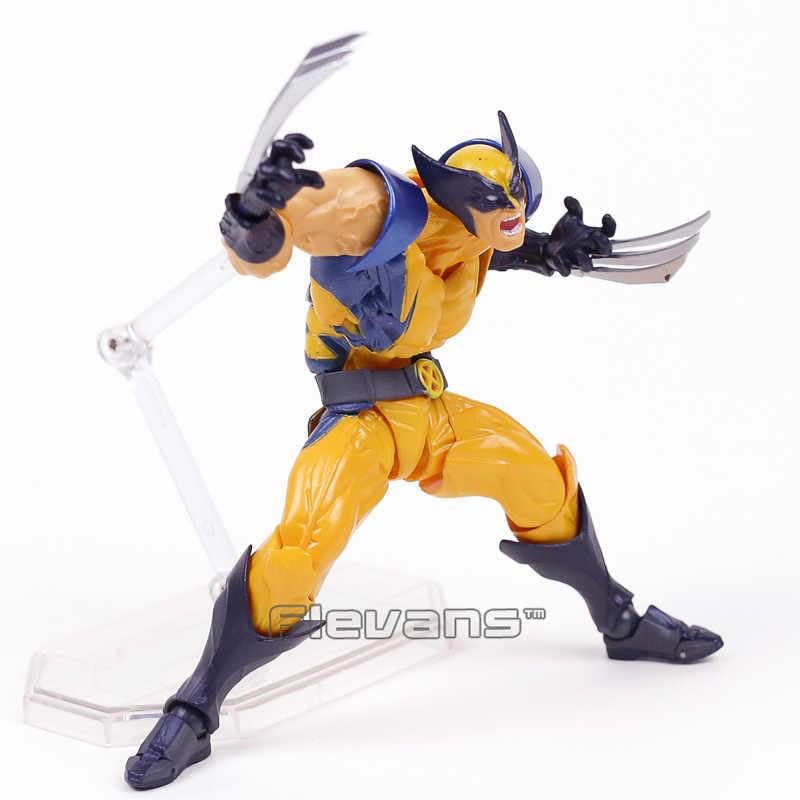 İNANıLMAZ YAMAGUCHI Revoltech NO. 005 Wolverine Logan PVC Action Figure Koleksiyon Model Oyuncak