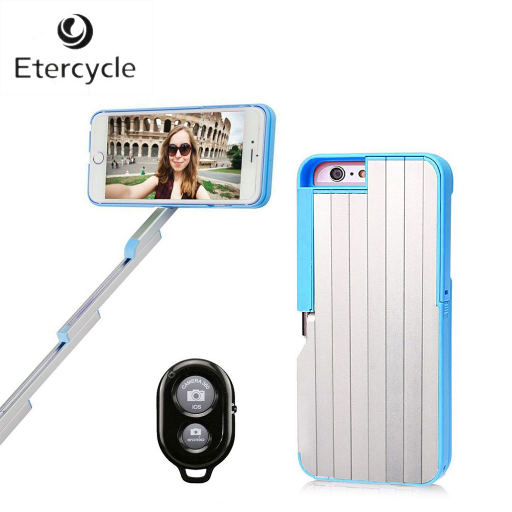 etercycle 2 in 1 bluetooth phone case selfie stick aluminum extendable bluetooth full length. Black Bedroom Furniture Sets. Home Design Ideas