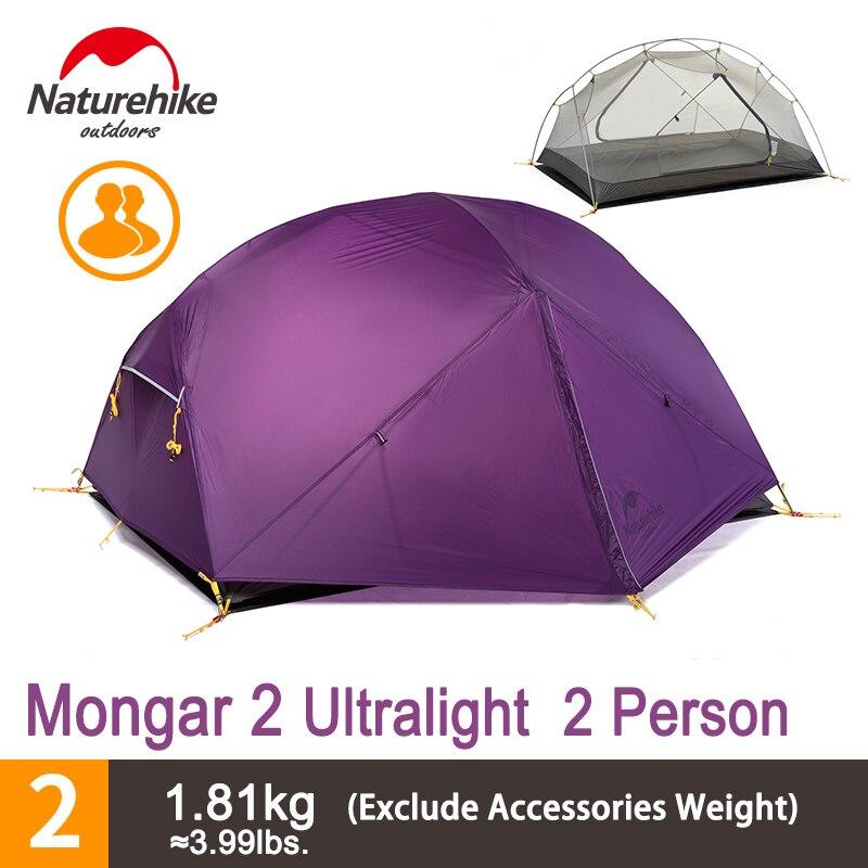 Naturehike Zelt 1 Person : Aliexpress buy naturehike mongar large space