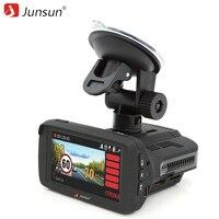 Junsun 3 In 1 Car Radar Detector For Russia 2 7 Car DVR Camera With GPS