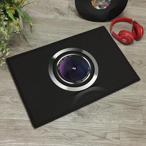3D Camera Doormat Nordic Area Rugs Floor Carpet Non-slip Floor Door Mats for Living Room Kitchen Floor Stairs Area Hallway