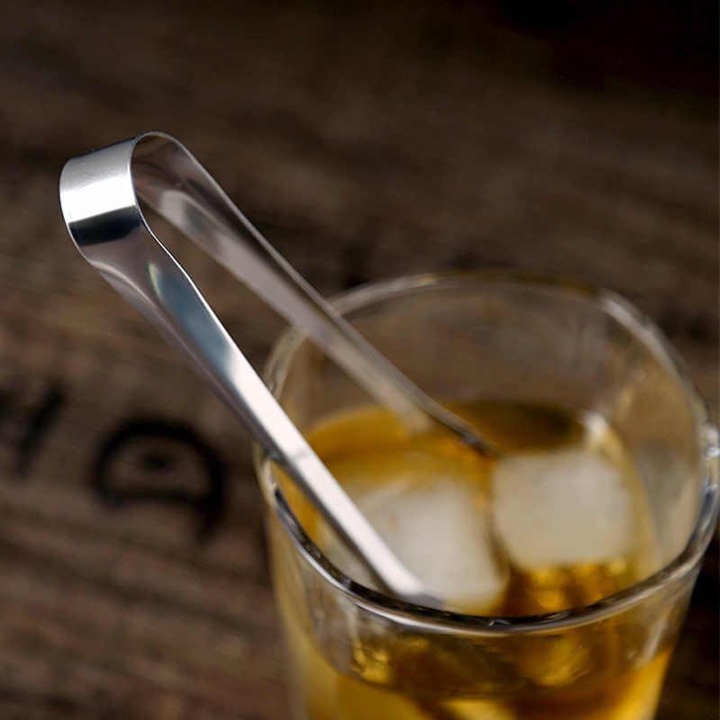 Нержавеющая сталь щипцы для льда 15 см мини кухня щипцы глазурь куб щипцы Малый щипцы для сервировки зажим Чай Вечерние бар интимные аксессуары
