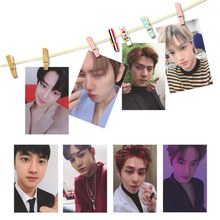 2019 New KPOP EXO Album Self Made Paper Lomo Card Photo Card Poster HD Photocard Fans Gift Collection(China)