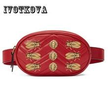 IVOTKOVA New Design Waist Bag for Women Brand Young Lady messenger Bags Hot Sale Pu Leather Female crossbody bag Drop Shipping все цены
