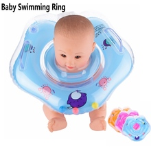 Swimming Pool Accessories Baby Neck Floats For Swim Rings Pools Piscine Floaties Trainer Inflatable Circles Bathing Baby Safety