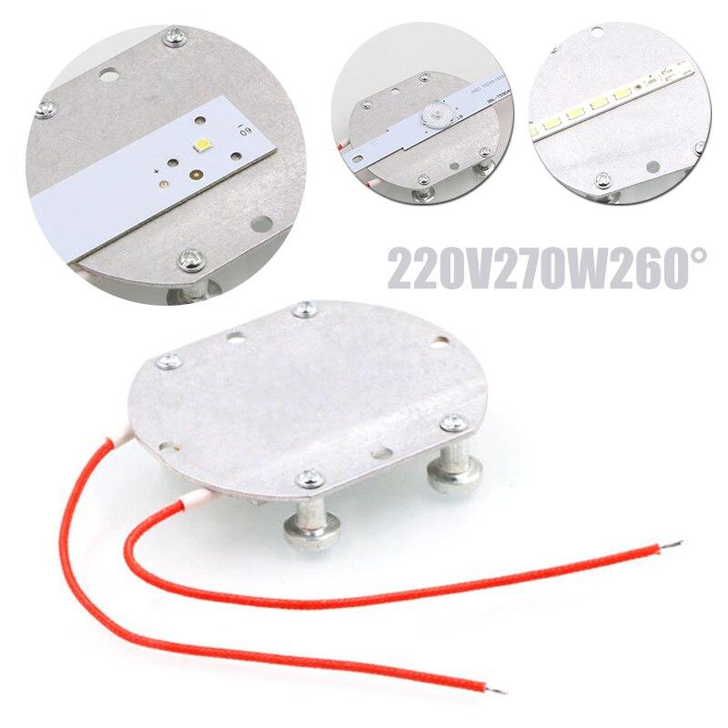74*63*7mm 220V LED Remover BGA Demolition Chip Welding Soldering Station Heating PTC Board Aluminum PTC Heating Plate