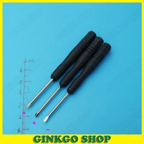 1200 pcs lote 3 modelos de chave de fenda chave de fenda ferramenta open