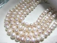 9 10mm south sea white baroque pearl necklace 58