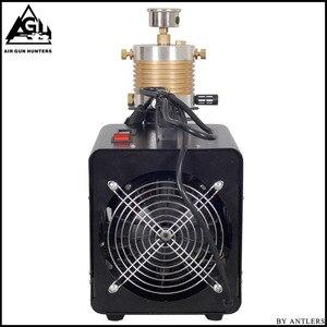 Image 4 - 4500PSI высокое давление авто Стоп Электрический PCP компрессор возвратно поступательный воздушный насос для пневматического оружия подводная винтовка PCP Надувное устройство