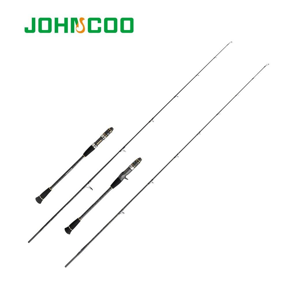 JOHNCOO Slow Jigging Fishing Rod 1.83m FUJI Guide Ring and